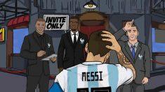 El troleo de Theo Griezmann a Leo Messi por la eliminación de Argentina del Mundial 2018.