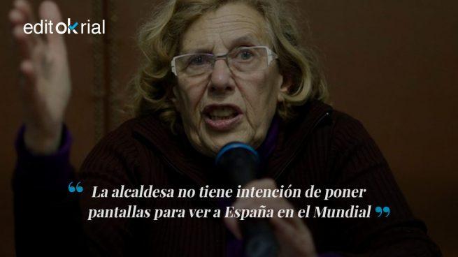 Carmena da la espalda a España