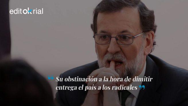 Rajoy arrastra a España y al PP al apocalipsis
