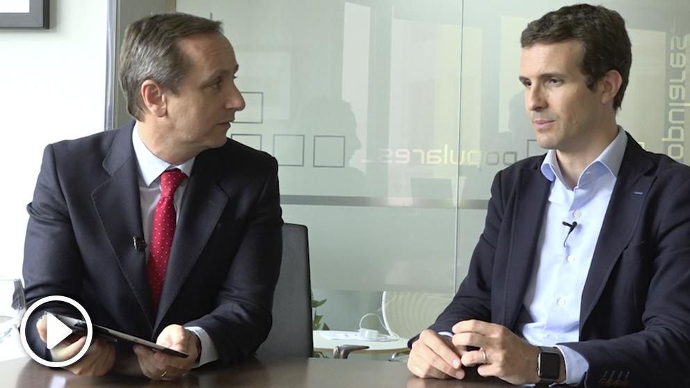 OKDIARIO entrevista a Pablo Casado.