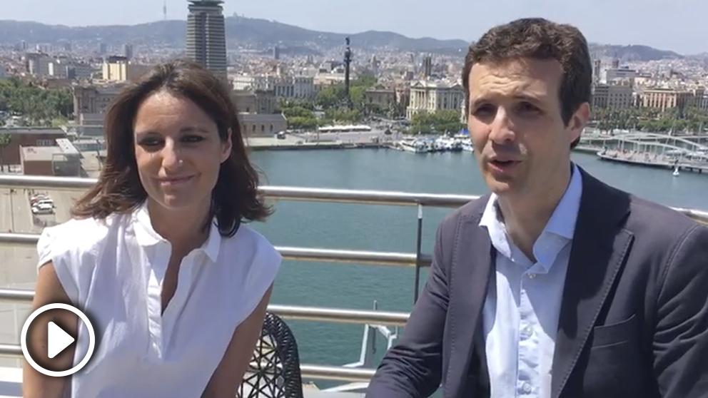 Andrea Levy hace público su apoyo a Pablo Casado en las primarias del PP