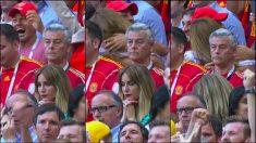 Edurne quedó desolada tras la eliminación de España.