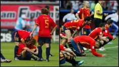 A la izquierda la España de 2002, a la derecha la de este año.