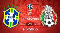 Mundial 2018: Brasil – México | Horario Mundial de Rusia