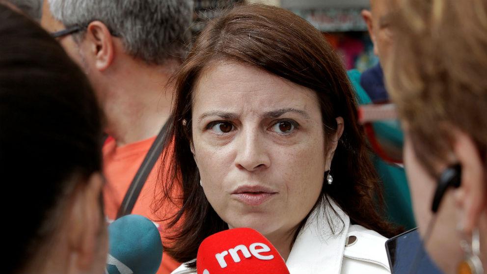 La vicesecretaria general y portavoz parlamentaria del PSOE, Adriana Lastra.