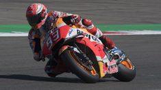 Marc Márquez se ha impuesto en la que ha sido la mejor carrera del año de MotoGP, completando el podio Rins y Viñales. (Getty)