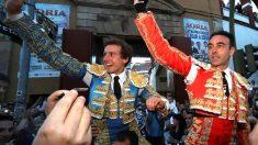 Román y Ponce salen a hombros este domingo en Soria (Foto: EFE).