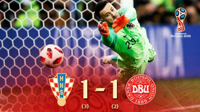Subasic se viste de héroe para meter a Croacia en cuartos