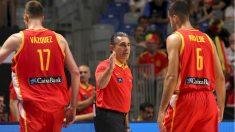 España de baloncesto ganó a Bielorrusia. (EFE)