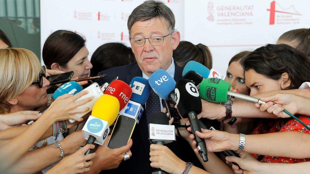Ximo Puig, presidente de la Comunidad Valenciana. (Foto: EFE)