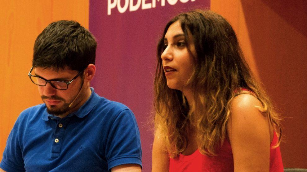 Dina Bousselham, ex asesora de Pablo Iglesias en el Parlamento europeo. (Foto: Podemos)