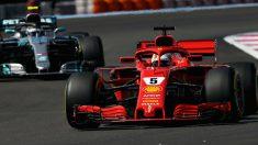El doble podio logrado por Ferrari en Austria ha supuesto que tanto el equipo italiano como Vettel asciendan al liderato del mundial. (Getty)