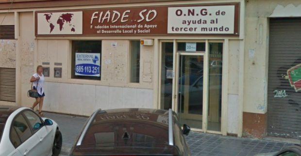 Sede de Fiadelso en la calle Conchita Piquer (Valencia).