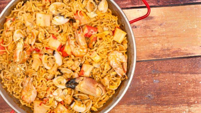 Como Cocinar Berberechos | Receta De Fideua Con Berberechos Facil De Preparar
