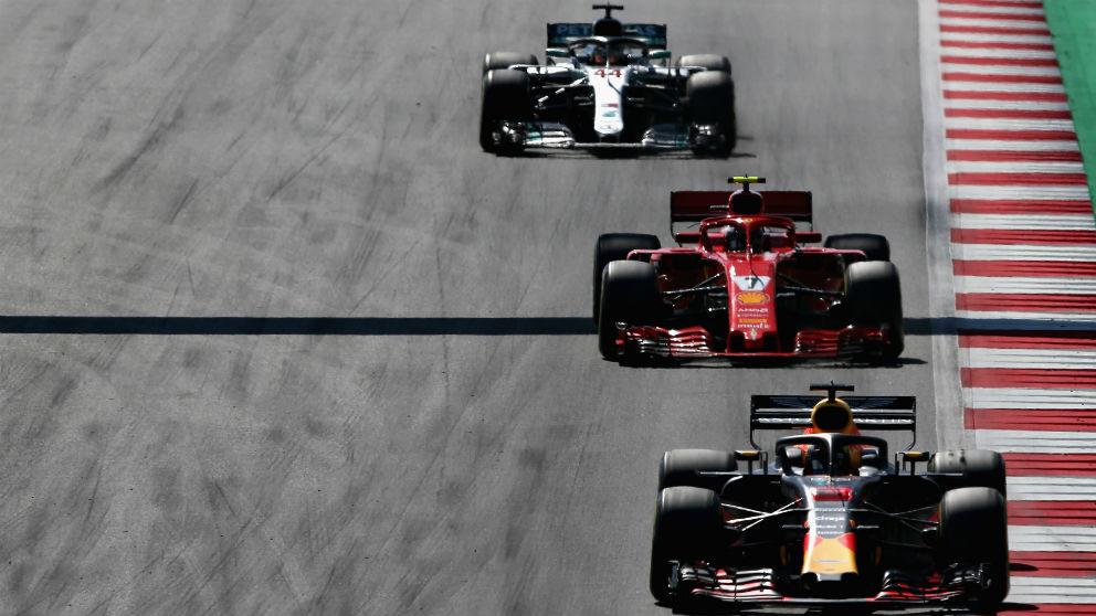 Ferrari, Red Bull y Mercedes dominan la Fórmula 1. (Getty)
