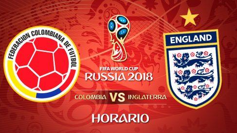 Mundial 2018: Colombia – Inglaterra | Horario Mundial de Rusia