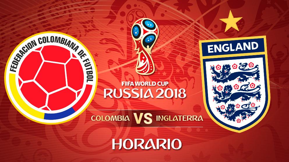 Mundial 2018: Colombia – Inglaterra   Horario Mundial de Rusia
