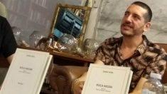Ignasi Vidal, en la presentación de su obra teatral 'Roca Negra'. (ADP)