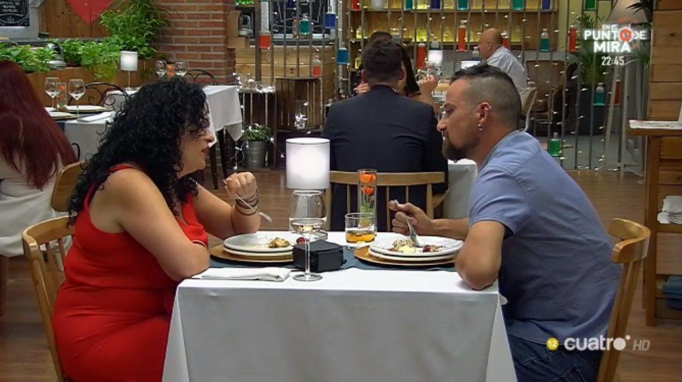 Cita de Carlos y Ana en 'First Dates'