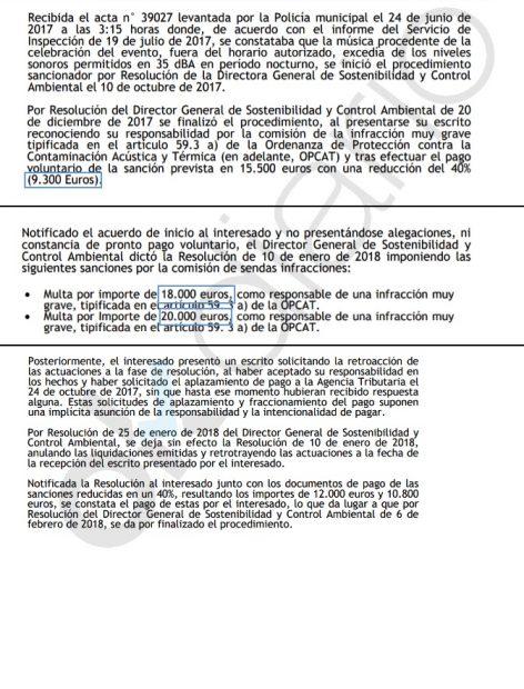 Carmena amplía la 'barra libre' de ruido a los macrofestivales de música tras multas por 53.500€