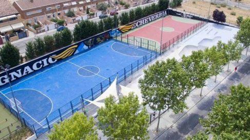 El nuevo skatepark en honor de Ignacio Echevarría (Foto: Ayuntamiento de Boadilla)