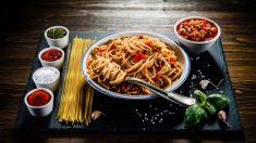 Receta de Tallarines con salsa cajún fácil de preparar