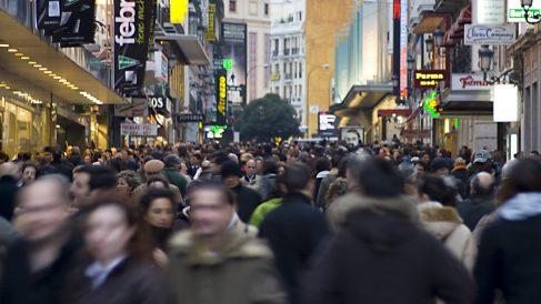 Calle comercial de Madrid (Foto. Getty)