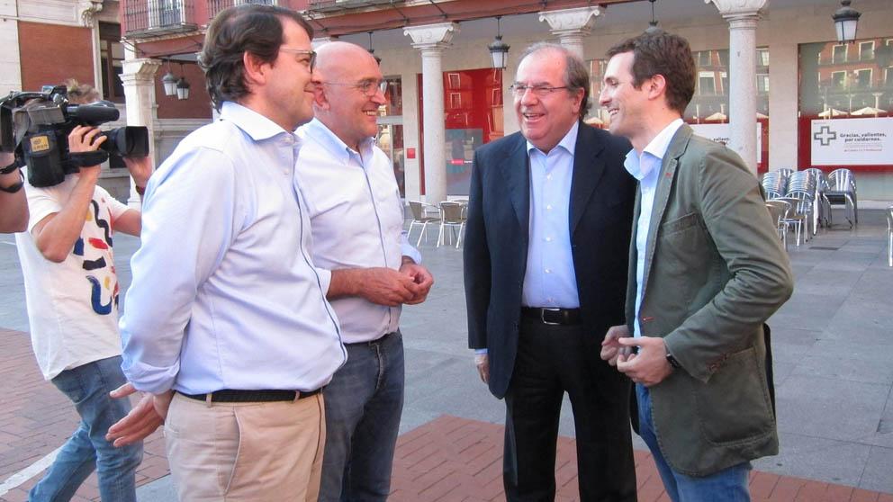 Pablo Casado en Valladolid (Foto: Europa Press)