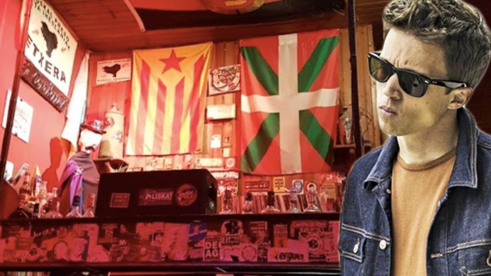 El pub proetarra de Santiago de Compostela donde Errejón tuvo el altercado.