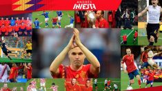 Iniesta ha dicho adiós a la selección con una emotiva carta.
