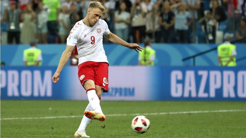 El danés Jorgensen ha recibido amenazas de muerte por su fallo en el penalti contra Croacia. (Getty)