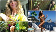 Las modelos brasileñas durante el Mundial de Rusia. (Fotos: Instagram)