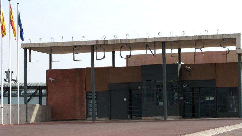 La entrada del centro penitenciario de Lledoners