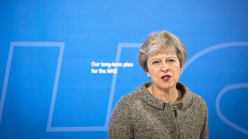 Theresa May. (Foto: AFP)