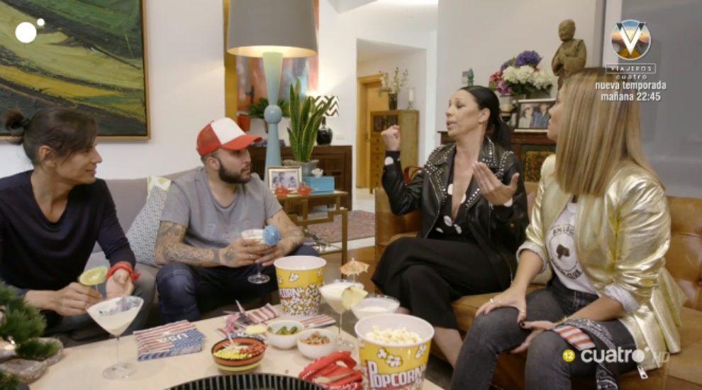 Toñi y el inglés en 'Ven a cenar conmigo: Gourmet edition'
