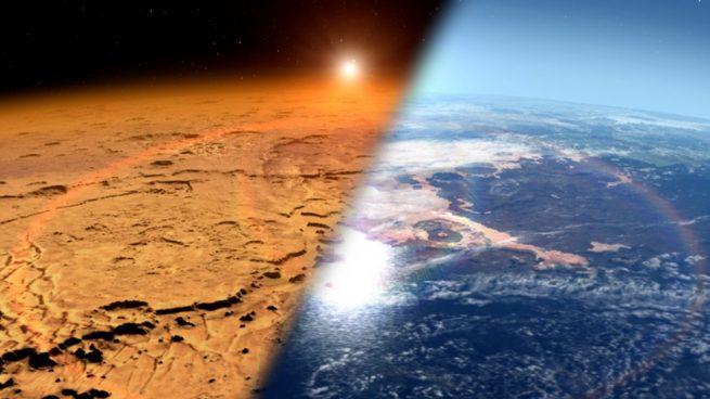 Cómo se perdió la atmósfera de Marte