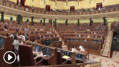 El hemiciclo del Congreso de los Diputados. (Foto: Francisco Toeldo)