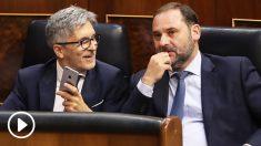 Fernando Grande-Marlaska y José Luis Ábalos, ministros del Interior y de Fomento. (Foto: EFE)