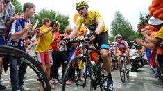 Chris Froome, en una etapa del Tour de Francia. (Getty)