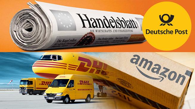 Preocupación en Deutsche Post: Amazon representa cerca del 20% del volumen de DHL