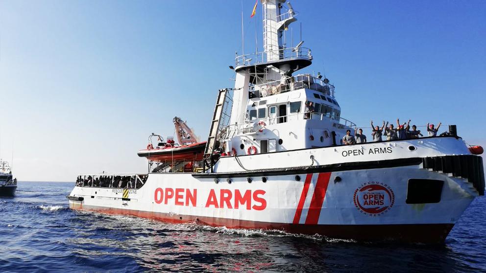 Buque Open Arms. (Foto: Proactiva Open Arms)