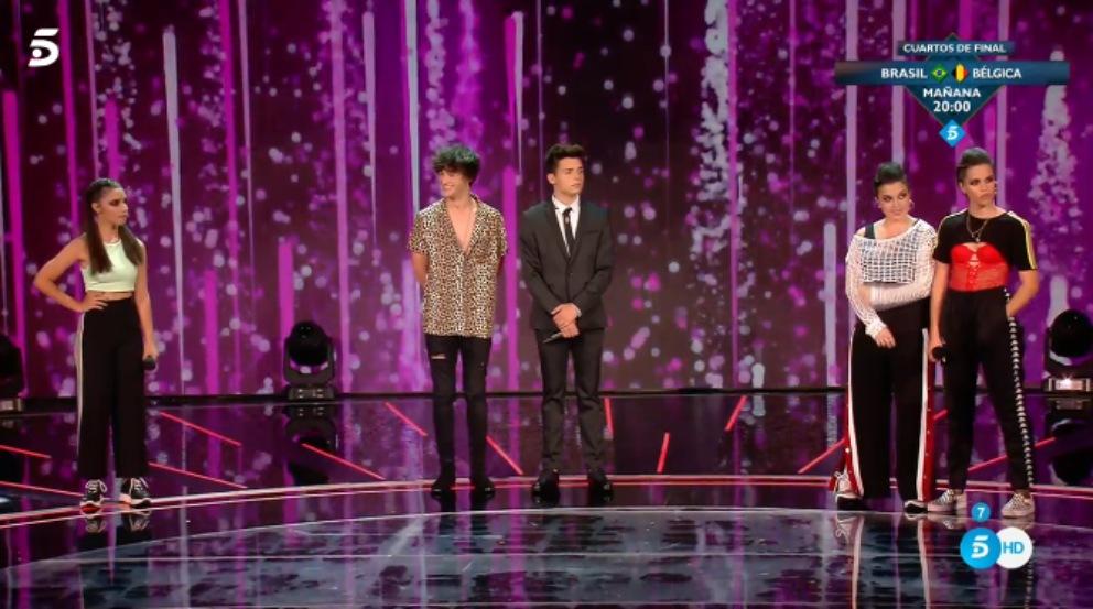 Los cuatro finalistas de 'Factor X'