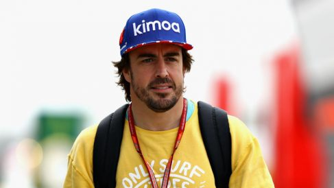 Fernando Alonso ha aclarado que nadie en McLaren le ha consultado acerca de los cambios estructurales realizados durante estos días en el equipo. (getty)