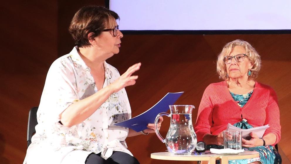 Inés Sabanés y Manuela Carmena. (Foto. Madrid)