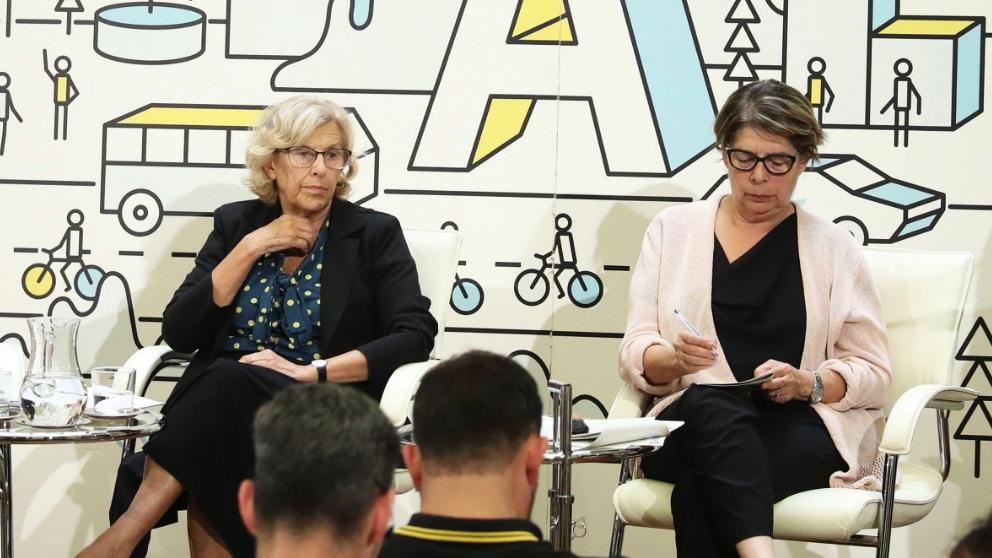 Manuela Carmena e Inés Sabanés. (Foto. Madrid)
