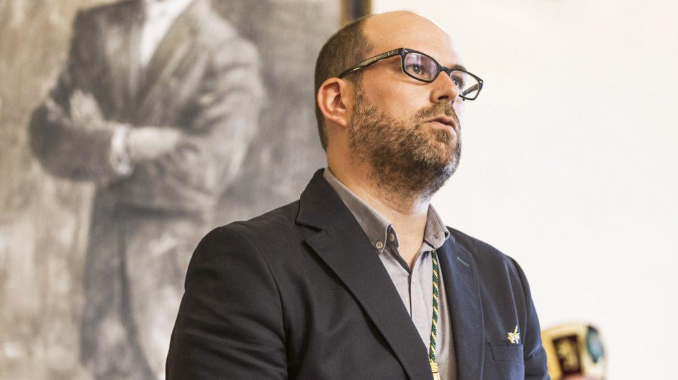 Martiño Noriega, alcalde de Santiago. (Foto: Compostela Aberta)