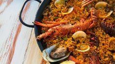 Receta de Paella marinera fácil de preparar