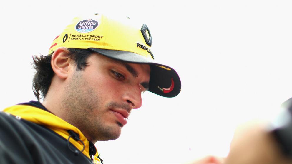 Carlos Sainz ha reconocido que las mejoras más importantes de Renault llegarán en las próximas carreras de Alemania y Hungría. (Getty)