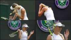 Wozniacki sufrió el ataque de las hormigas voladoras durante el partido ante Makarova.