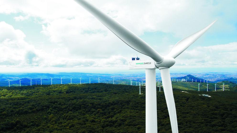 Parque eólico de Siemens Gamesa.
